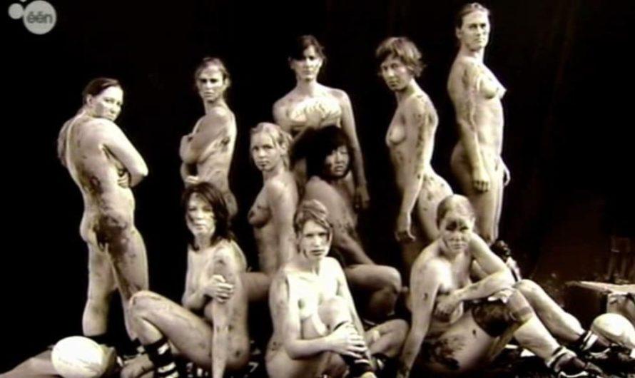 De Naacktkalender – Calendrier nu à la TV belge flamande – 3 et 4