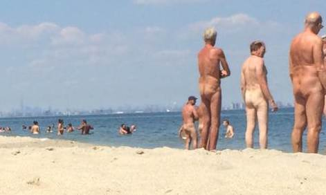 Plage naturiste de New York (USA)