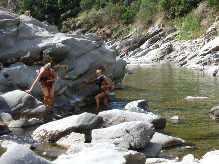 54 naturistes en randonue à Sénéchas (Cevennes)