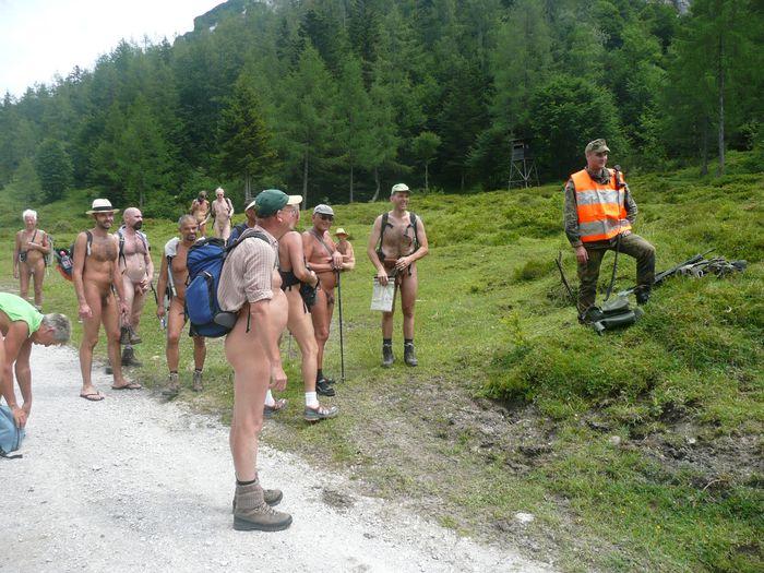 NEWT (Naked European Walking Tour) Tyrol le 7 juillet 2011
