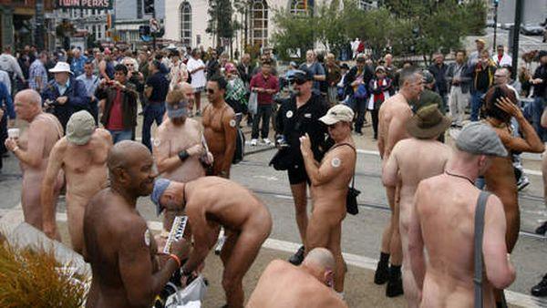 Les Nudistes de San Francisco protestent contre certaines interdictions