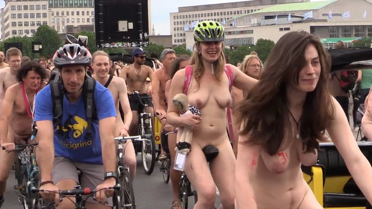 2015 World Naked Bike Ride London