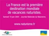 Journée Nationale du Naturisme  Samedi 19 juin 2004