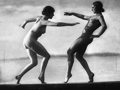 Le bonheur d'être nu – année 1912