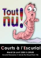 Courts-métrages sur le thème de la nudité (Paris)