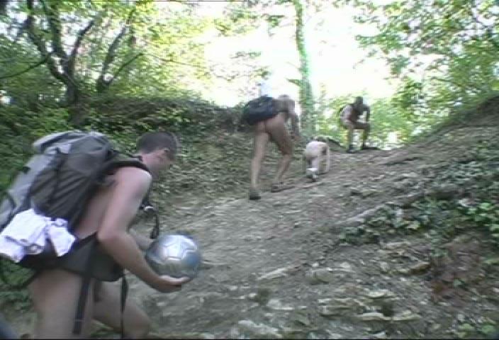 """Randonue de """"L'Homme sauvage"""" dimanche 18 septembre 2005, en Essonne"""