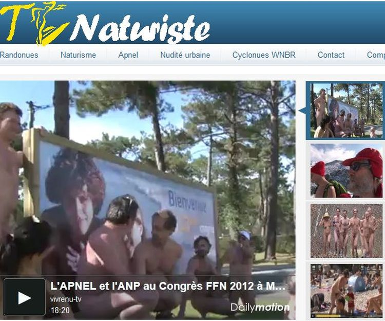 L'APNEL et l'ANP au congrès de la FFN au centre naturiste de Montalivet