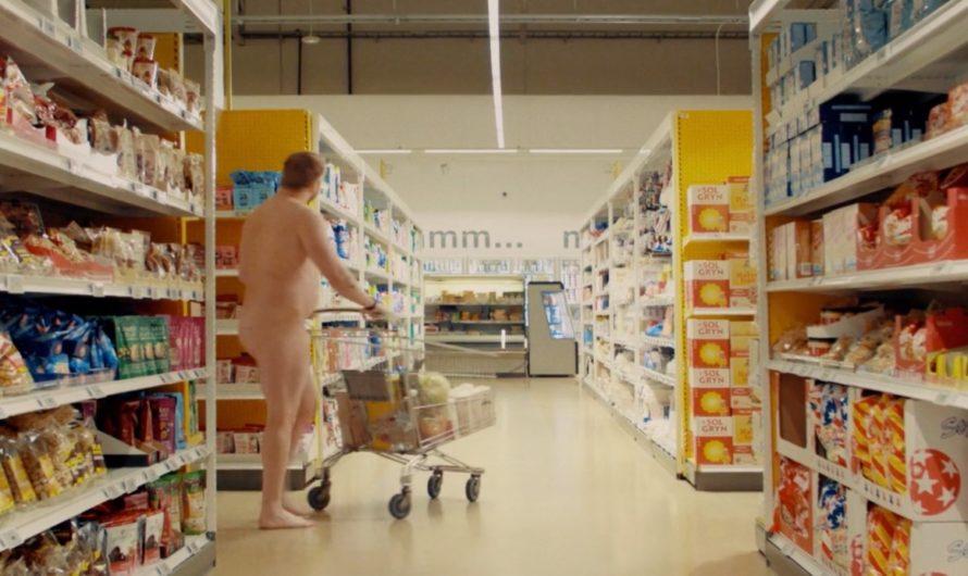 Pub TV avec des gens nus à la télévision islandaise 2020-11-04