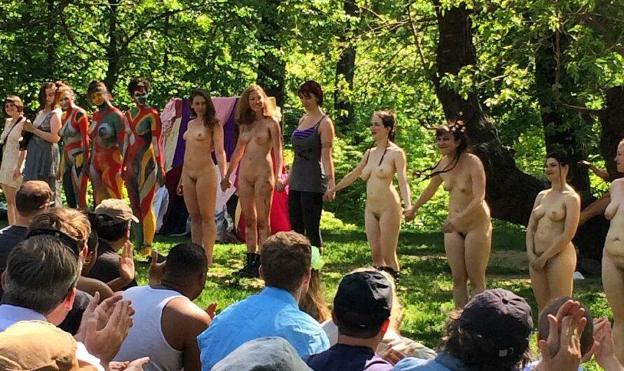 13 femmes nues jouent Shakespeare à Central Park – New York
