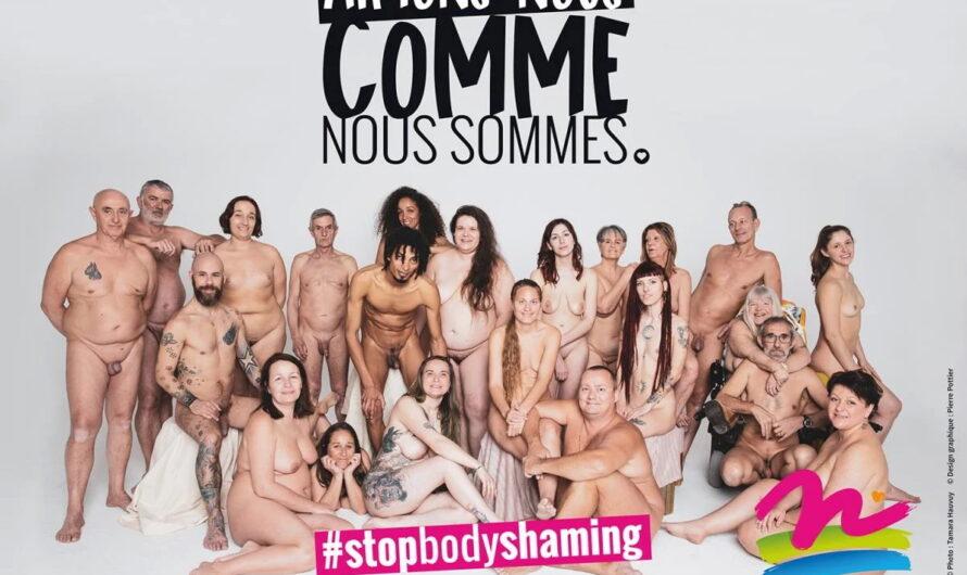 Julien, naturiste, explique la campagne de pub pour l'acceptation de son corps