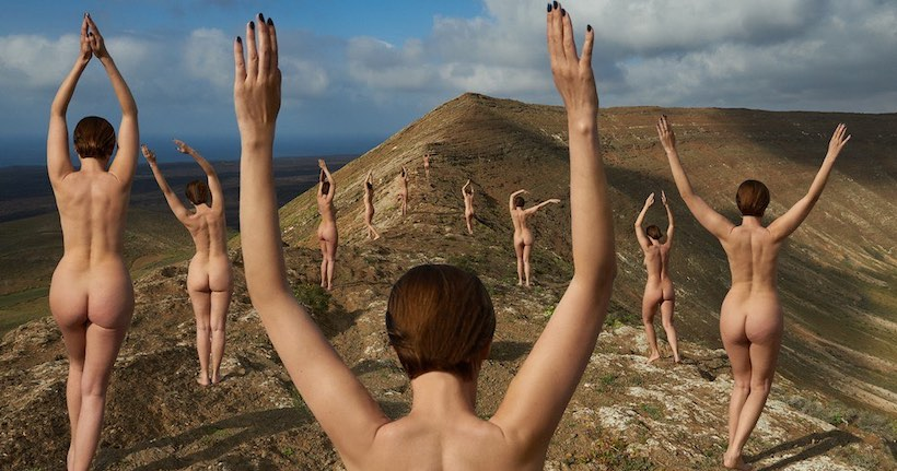Julia Buruleva photographie les corps nus dans tous leurs états