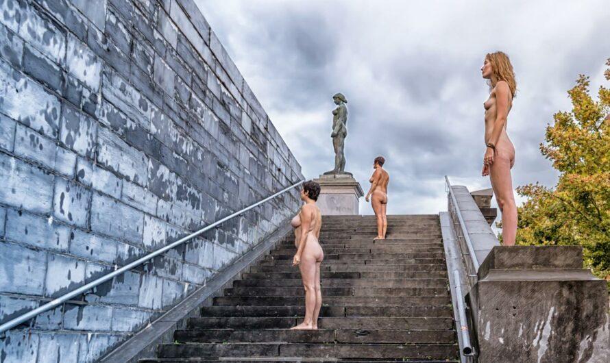 la nudité dans l'œil des photographes