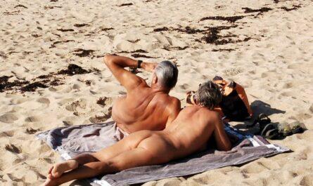 La Guimorais plage, naturisme