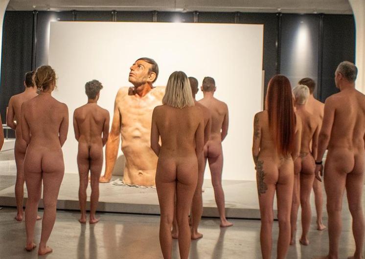 Le 30/08/2021 Visite nue à l'expo Hyperrealism Sculpture