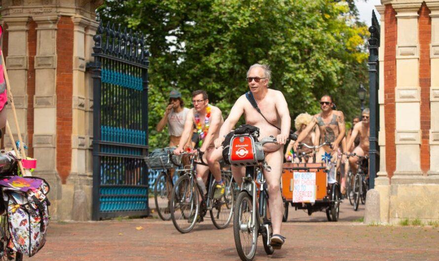 World Naked Bike Ride 2021: Londres, des centaines de personnes participent à la manifestation cycliste nue